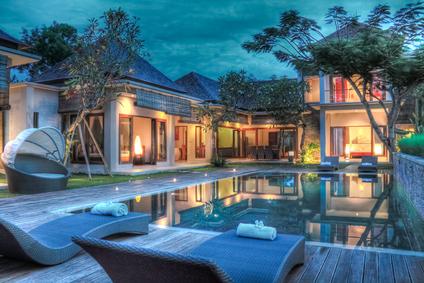 rented villa