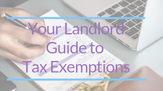 Landlord guide to tax exemption
